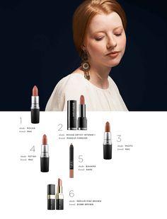 Warm Skin Tones  #flattering #lipstick #brownlipstick #skintone