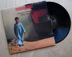 """Philip Glass """"Powaqqatsi"""" Vinyl Record LP Motion Picture Soundtrack. Electronic Classical Modern Experimental"""