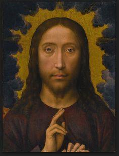 Hans Memling - The Blessing of Christ