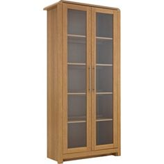 Buy Heart of House Elford 2 Door Display Cabinet - Oak Effect at Argos.co.uk - Your Online Shop for Display units and glass cabinets.