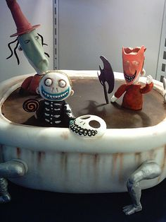 Nightmare Before Christmas cake   Flickr: Intercambio de fotos