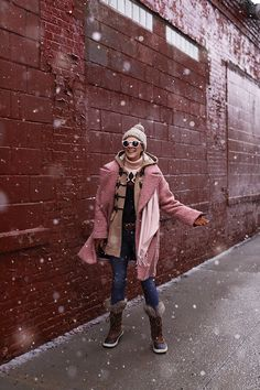 buy popular b32b8 a3b43 Snow style, how to dress for winter! Click through to see more winter style