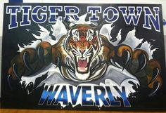 High school mural