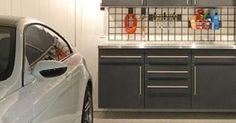 Garage Tool Bench | Custom Garage | Storage Solutions | Clean Garage | Tailored Living | Madison | WI