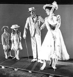 Rodaje Mary Poppins behind the scenes