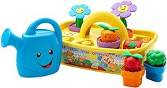 How does baby's garden grow? With lights sounds phrases busy activities a watering can and more! Little ones can take care of their very own Laugh & Learn Smart Stages garden with this adorable ...