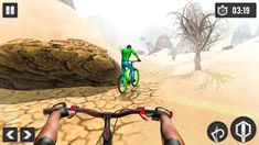 MTB Downhill Cycle Race Mod Money is a bike racing game and was released by Grace Games Studio. You will be an athlete and participate in the biggest bike races in many parts of the world, with unique play and beautiful graphics, the game will bring you unique and exciting experiences. Let's learn about the game MTB Downhill Cycle Race for Android.