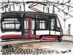 Caska 15T Forcity z boku FB - obraz na plátně
