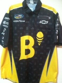 Turner Motorsports Nascar Camping World Trucks Race Used Pit Crew Shirt..Racing