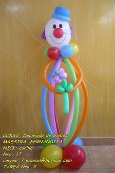 Curso con Fernandita_Cueva de decorado con globos