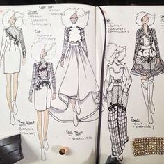 Fashion Illustrations #fashion #illustrations #sketch by Fashionary Hand
