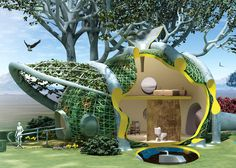 """These woven tree houses might look like something from a Hobbit film set, but this method of """"arborculture"""" as an architecture form has been used for centuries."""