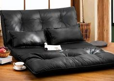 This comfortable Merax Leather Foldable Leisure Sofa Bed is ideal for hanging out in the lazy afternoon or catching some sleep at night or for the lazy gammers out there. It brings both style and function into your home, folds quickly and easily from a modern, stylish floor sofa to a full-size... - Madeofmillions.com