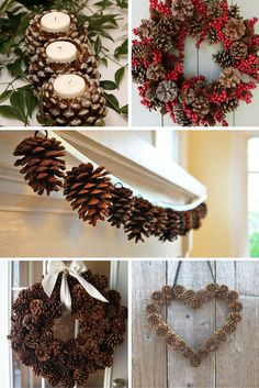 Easy Pine Cone Projects