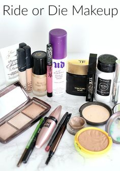 The Ride or Die Makeup Tag Inspired By Jaclyn Hill... aka my Holy Grail makeup products both high end and drugstore makeup.