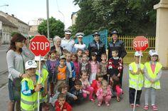 """Satu Mare - Activitate rutieră în cadrul proiectului """"Poliţist junior"""""""