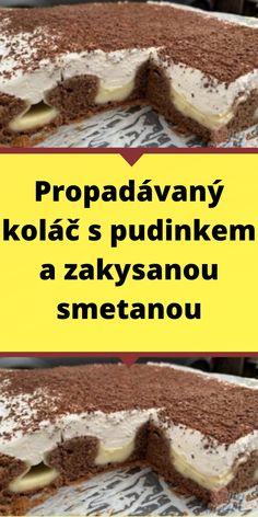 Czech Desserts, Sweet Desserts, Cheesecakes, No Bake Cake, Food Hacks, Ham, Muffins, Deserts, Good Food