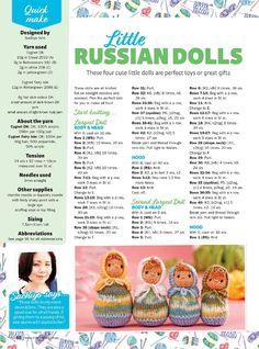 Knit now 2018 — yandex disk Photo from album Knitted Doll Patterns, Knitted Dolls, Crochet Dolls, Knitting Patterns Free, Free Knitting, Knitting Yarn, Knitting Stitches, Baby Knitting, Simply Knitting
