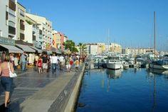 Le Cap d'Agde, France.