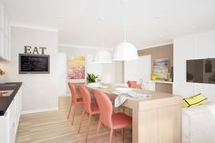 coral-color-dining-chairs