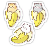 Tora Bananya, Bananya, Sabatora Bananya - Bananya  Sticker