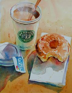 David Lobenberg © watercolor painting