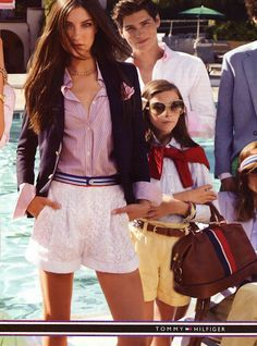 I love how the little girl is dressed. I just need everything in a bigger size.