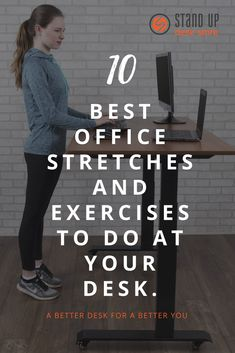 If youre pressed for spare minutes there are plenty of desk stretches and desk exercises that are not only effective but can integrate seamlessly into your workday So if. Office Yoga, Office Exercise, Office Workouts, Desk Workout, Workout At Work, Outdoor Workouts, Easy Workouts, Exercise At Your Desk, Fitness Tips