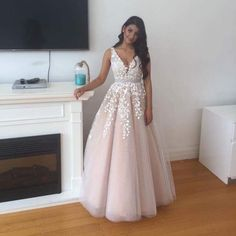 Charming Prom Dress,Sexy Prom Dress,Tulle Evening Dress,Sleeveless Evening