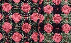 Larry: Sleeping Dog Weaving | deflected doubleweave | 8/2 cotton: sett 20 epi | 8-shaft |  2006