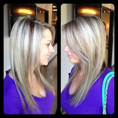 Ash Blonde Hair With Lowlights