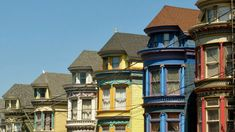 A guide to San Francisco's many varieties of Victorians - Curbed SF San Francisco Tours, Walker House, Glen Park, Fort Mason, Folk Victorian, Mansard Roof, Pacific Heights, House Viewing, Roof Types