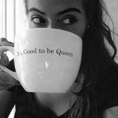 "Cute mug ""It's good to be queen"" - @martinezkarlaaa"