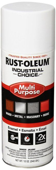 RUSTOLEUM 1692830 - Enamel Spray Paint, 12-Ounce, Gloss White
