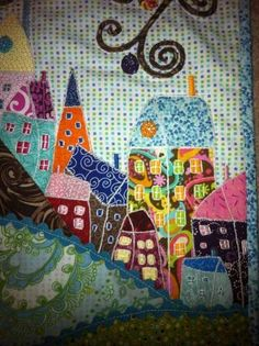this just makes me HAPPY - QUILTING