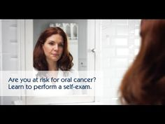 "Are you at risk for oral cancer? Learn to perform a self-exam. Watch AAOMS's video on ""Are you at risk for oral cancer? Learn to perform a self-exam.'"