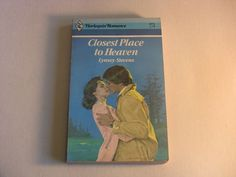 Vintage Harlequin Romance Book #2574 Closest Place to Heaven Lynsey Stevens 1983