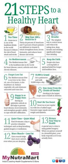 21 Steps to A Healthy Heart