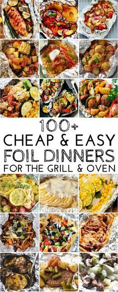 100 Cheap and Easy Foil Dinners for the Grill and Oven https://uk.pinterest.com/uksportoutdoors/electronic-hiking-camping-equipment/pins/