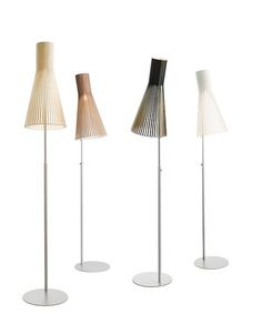 Beautiful Wood Lamps Handmade in Finland - Secto Design Lamps by Seppo Koho Shop Interior Design, Modern Interior, Amsterdam, Joko, Wood Lamps, Modern Lighting, Modern Lamps, Lamp Design, Floor Lamp