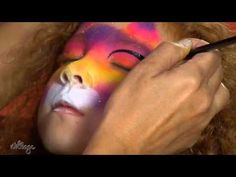 How To Do Kitty Cat Face Paint for Kids - YouTube