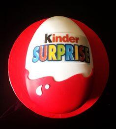 Kinder Surprise Fondant Cake...