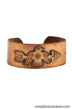 Vintage copper cuff bracelet with large eagle and arrow design.     Shop this product here: http://spreesy.com/windrosejewelry/201 | Shop all of our products at http://spreesy.com/windrosejewelry    | Pinterest selling powered by Spreesy.com