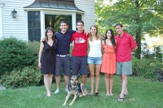 My cousin, Tracey, and her family.
