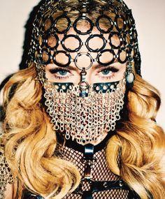Madonna - Harper's Bazaar photographed by Terry Richardson, November 2013