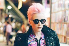 Hong Kong Pink, a fashion editorial by Jeffrey Chang