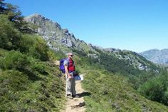 High mountain paths