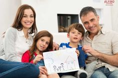 Family With New House Drawing Stock Photo - Image of couch, indoor: 36972918 House Drawing, Moving House, Children Images, Life Insurance, Working Woman, Women Life, Kids And Parenting, Family Photos, Parents