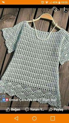 Crochet cardigan pattern, jacket - PDF Pattern only Love the slight sleeve width here This post was discovered by wa Crochet Tunic Pattern, Crochet Jacket, Crochet Blouse, Knitting Patterns, Crochet Patterns, Knit Vest, Diy Crafts Crochet, Easy Crochet, Crochet Top