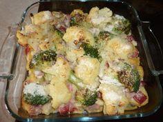 Rezept: Kartoffel-Broccoli-Blumenkohl-Gratin Bild Nr. 4